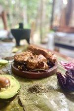 Cochinita pibil at Ajal: a Mayan delicacy
